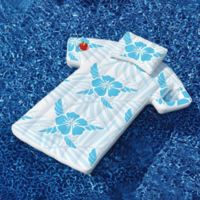 Swimline Cabana Shirt Pool Float in Blue