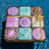 Swimline Box of Chocolates Island Pool Float