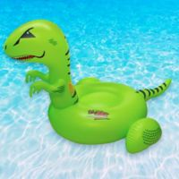 Swimline T-Rex Pool Float in Green