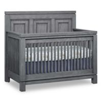 Soho Baby Manchester 4-in-1 Convertible Crib in Rustic Grey
