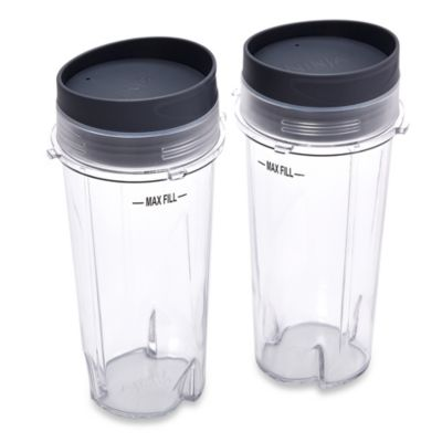 This Review Is FromNinja® 16 Oz. Single Serve Cups With Lids For Ninja®  BL660 Professional Blender (Set Of 2).