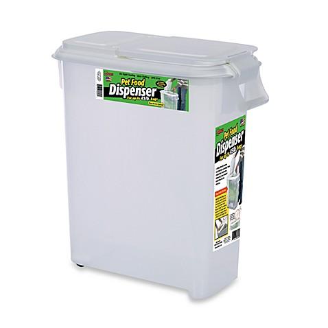 Buddeez 174 Roll Away 50 Quart Pet Food Dispenser Bed Bath