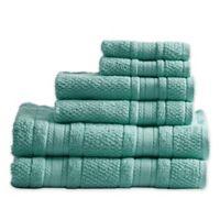 Madison Park Adrien 6-Piece Bath Towel Set in Teal