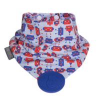 Cheeky Chompers® Neckerchew® Robot Teething Bandana Bib in Red/Blue