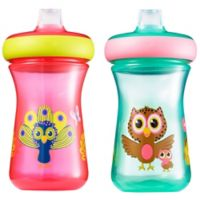 The First Years™ 2-Pack 9 oz. Insulated Soft Spout Birds Sippy Cups