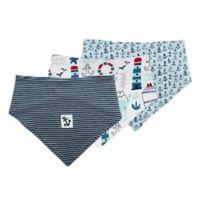 Mac & Moon 3-Pack Nautical Bandana Bibs