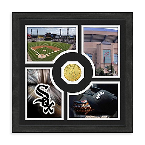 Chicago White Sox Fan Memories Minted Bronze Coin Photo Frame