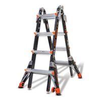 Little Giant® 17-Foot Dark Horse Type IA Fiberglass Ladder with Walkthrough Dock in Black