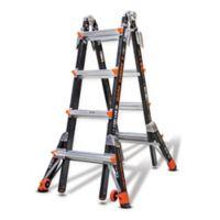 Little Giant® 17-Foot Dark Horse Type IA Fiberglass Ladder in Black