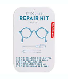 Kikkerland Design Kit de reparación de emergencia para anteojos