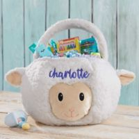 Lamb Embroidered Easter Treat Bag