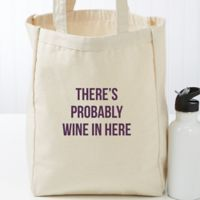 Expressions Personalized Canvas Tote Small Bag