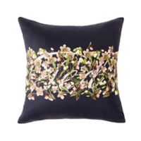 Ted Baker London® Arboretum Floral Square Throw Pillow in Navy
