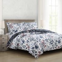 Constance Reversible Full/Queen Comforter Set in Teal