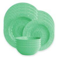 American Atelier 12-Piece Dinnerware Set in Green