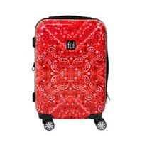 ful® Bandana 21-Inch Hardside Spinner Carry On Luggage in Red