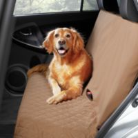 Pawslife™ Bench Style Quilted Car Seat Cover in Tan