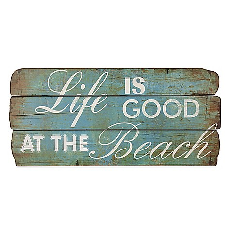Life is Good At the Beach\