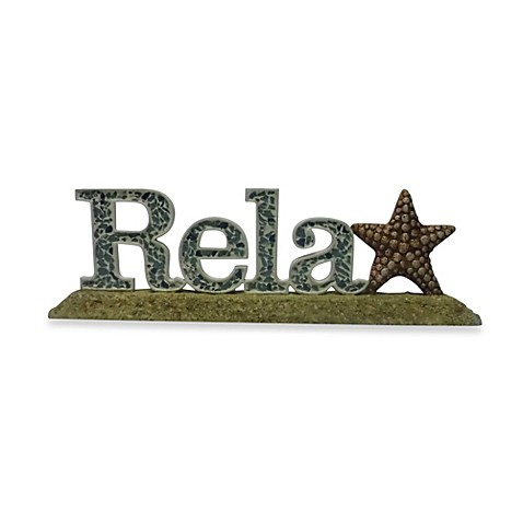 Relax Table Top Decor