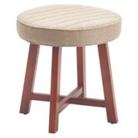 Tommy Hilfiger® Lafayette Upholstered Stool in Brown