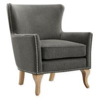 Linen Upholstered Arizona Chair in Charcoal