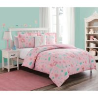 Sea Princess 3 Piece Bedding Set in Pink