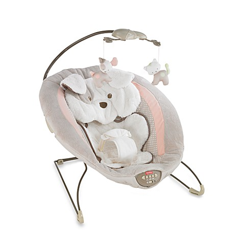 Fisher Price 174 My Little Snugapuppy Deluxe Bouncer Buybuy