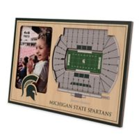 Michigan State University 5-Layer StadiumViews 3D Wall Picture Frame