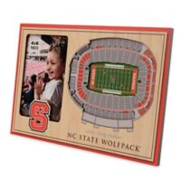 North Carolina State University 5-Layer StadiumViews 3D Wall Picture Frame