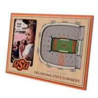 Oklahoma State University 5-Layer StadiumViews 3D Wall Picture Frame