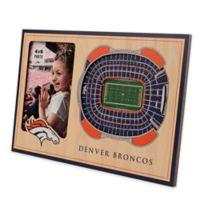 NFL Denver Broncos 5-Layer StadiumViews 3D Wall Picture Frame