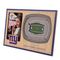 NFL New York Giants 5-Layer StadiumViews 3D Wall Picture Frame
