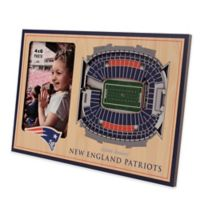 NFL New England Patriots 5-Layer StadiumViews 3D Wall Picture Frame