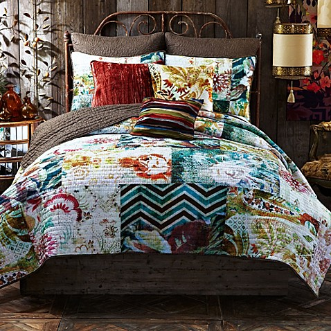 Tracy Porter Poetic Wanderlust Michaila Reversible Quilt Bed