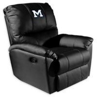 Colorado School of Mines Rocker Recliner with M Logo