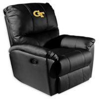 Georgia Tech Rocker Recliner with Block GT Logo