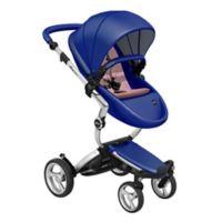 Mima® Xari Aluminium Chassis Stroller in Royal Blue/Pink