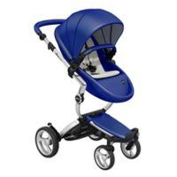 Mima® Xari Aluminium Chassis Stroller in Royal Blue/White