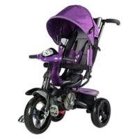 Evezo Maks 4-in-1 Stroller Trike in Purple