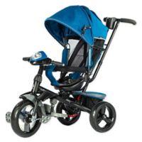 Evezo Maks 4-in-1 Stroller Trike in Blue