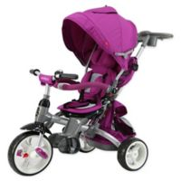 Evezo Samzio 6-in-1 Stroller Trike in Purple