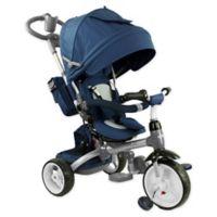 Evezo Samzio 6-in-1 Stroller Trike in Blue