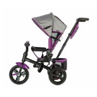 Evezo Kailin 4-in-1 Stroller Trike in Purple