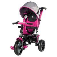 Evezo Kailin 4-in-1 Stroller Trike in Pink