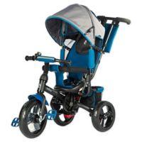 Evezo Kailin 4-in-1 Stroller Trike in Blue