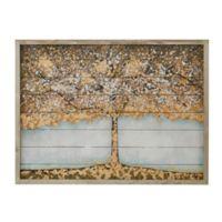 Madison Park 27-Inch x 36-Inch Autumn Tree Wood Wall Art