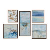 Madison Park™ Horizon 5-Piece Panel Canvas Wall Art in Blue