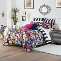 Melli Mello® Mia Reversible Full/Queen Comforter Set in Black