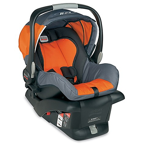 buy britax bob b safe infant car seat in orange from bed bath beyond. Black Bedroom Furniture Sets. Home Design Ideas