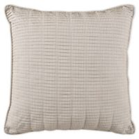 Bridge Street Skylar Pleated Throw Pillow in Taupe